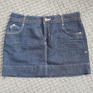 Jean Miniskirt